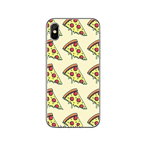 Cute food french fries burger pizza cover case For iPhone 11 Pro XS Max XR X 8 7 6 6S Plus 5 5S SE 4s 4 iPod Touch case -burger-pizza-C-10-For iPhone 5 5s SE