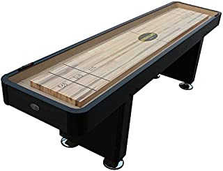 Berner Billiards The Standard 12 Foot Shuffleboard Table in Black