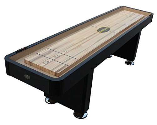 Berner Billiards The Standard 9 Foot Shuffleboard Table in Black