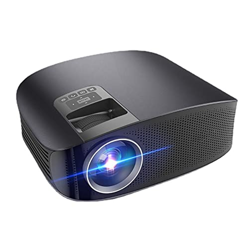 WJMM Proyector, Oficina Ultra Clear 1080P3900 Lumens Wireless Bluetooth Home Android Version LED Proyector, Compatible con USB, HDMI, computadora y más