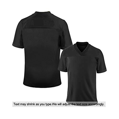 SNAPFITTG Football Jersey Maker-Custom Football Jersey Shirt Make Your Own 2 Sided Personalized Team Uniforms