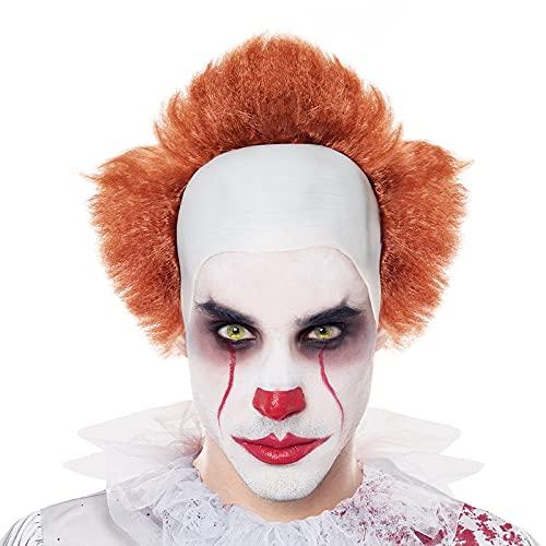 Partilandia Peluca de Payaso Asesino Retro [Peluca Disfraz Halloween]