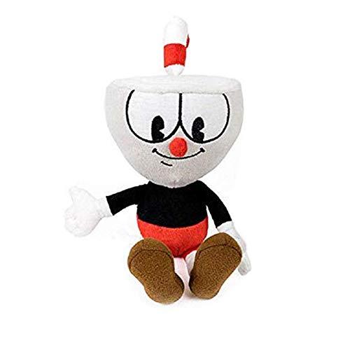 Cuphead Plush Figure Stuffed Toy 8 Inch