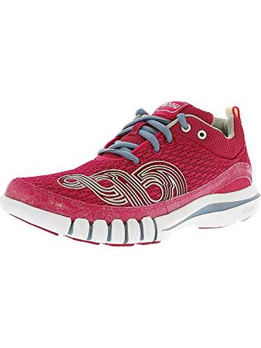 Ahnu Womens Yoga Flex Flex Running, Cross Training Shoes Pink 5.5 Medium (B,M)