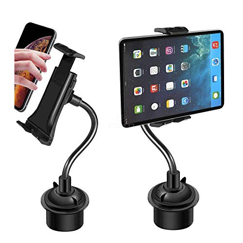 2020 Version Car Cup Phone Mount Holder 2-in-1 Tablet & Smart Phone Car Cup Holder