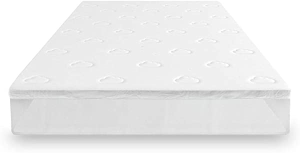Puffy Mattress Topper 2 Inches Thick Memory Foam For Queen RV Size Queen RV Soft
