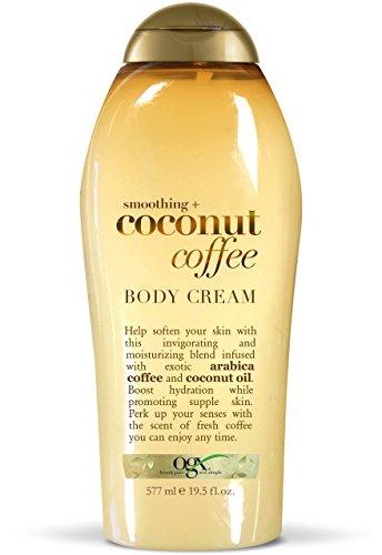 OGX Smoothing + Coconut Coffee Body Cream 19.5 oz