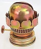 Quemador de repuesto para lámparas de aceite, lámparas de petróleo para mechas planas 15 mm de ancho, con rosca Interior y exterior, 55 mm de altura, diámetro interior de la rosca de 35 mm