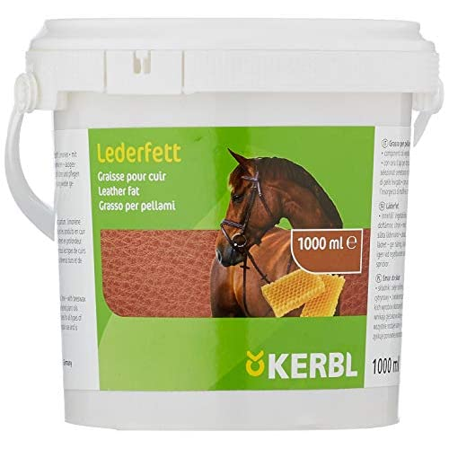 Kerbl 321566 - Grasso per Pelle Dubbin, con Cera d'api, 1000 ml