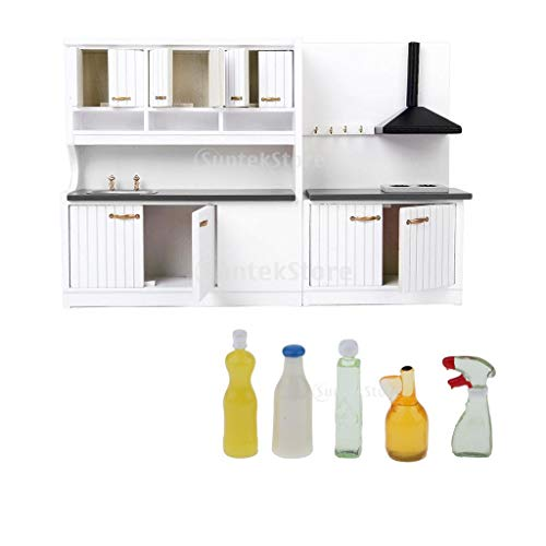 D DOLITY Conjunto de Mini Muebles de Cocina + Herramientas d