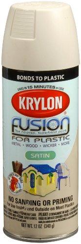 Krylon 2437 Satin Almond Spray Paint 12 Ounce