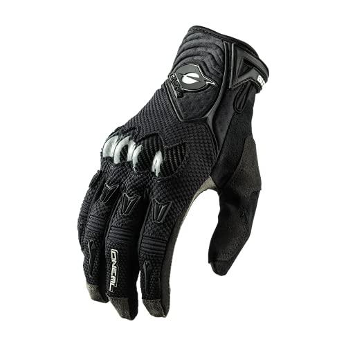 O'NEAL | Fahrrad- & Motocross-Handschuhe | MX MTB DH FR Downhill Freeride | 4-Wege-Stretch, Karbon-Knöchelschutz, Silikonbeschichtet | Butch Carbon Glove | Erwachsene | Schwarz | Größe XL