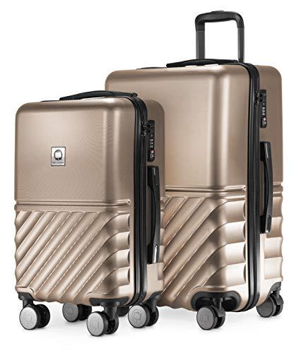 HAUPTSTADTKOFFER - Boxi - 2er Kofferset Trolley-Set Rollkoffer Reisekoffer Handgepäck und...