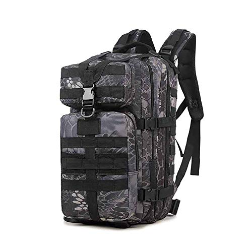 Tactical Backpack 55-Liter Large Capacity Hiking Backpack Large Military Backpack Used For Camping Hunting Hiking Military Travel E