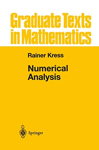 Numerical Analysis (Graduate Texts in Mathematics (181))