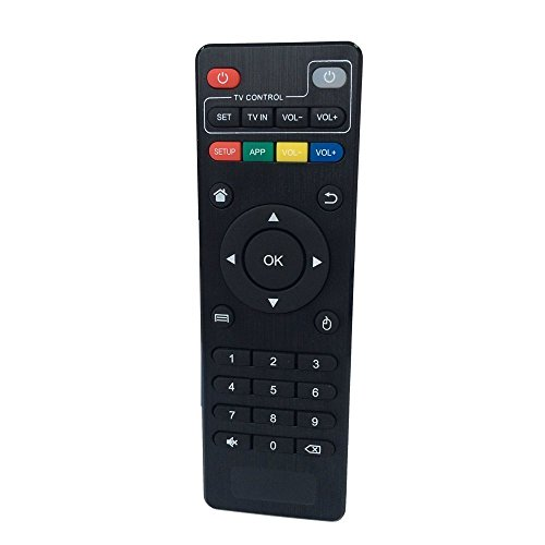 Foxtek Fernbedienung für MX, MXQ, MXQ PRO, M8, M8N, M8S, MX3 Android-TV-Boxen, XBMC, Kodi