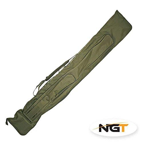 NGT Complete Carp Fishing Set Up 2 Rods Reels With Carryall Rod Holdall and Tackle RRP £199.99