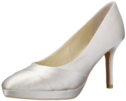 Menbur Wedding Damen Amina Pumps, Elfenbein (Ivory 04), 39 EU