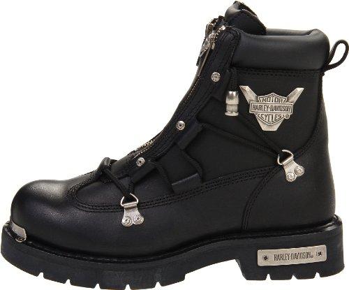 Harley-Davidson Men's Brake Light Riding Boot,Black,8.5 M