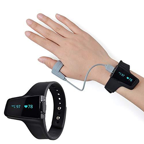Pulsoximeter Fingeroximeter Starke Leistung Smart Ringsensor Ist Genauer Für Erwachsene/Kinder Sport/Fitness