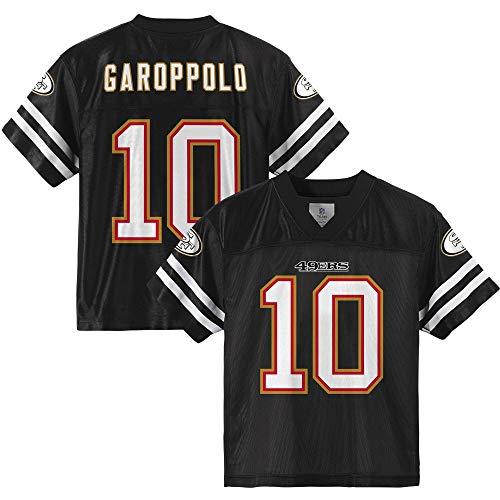 Jimmy Garoppolo San Francisco 49ers #10 Blackout Youth 8-20 Alternate Player Jersey (18)