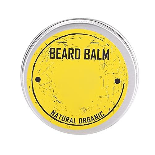 Bálsamo de barba Bálsamo acondicionador de barba orgánico natural Cera de bigote para dar forma a la barba Cuidado hidratante de la barba para hombres
