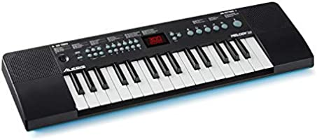 Alesis Melody 32 – Portable 32 Key Mini Digital Piano / Keyboard with Built-in Speakers, 300 Built-In Sounds, 40 Demo...