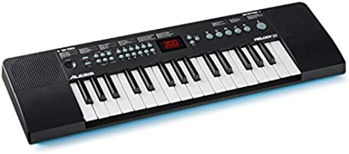 Alesis Melody 32 – Portable 32 Key Mini Digital Piano / Keyboard with Built-in Speakers, 300 Built-In Sounds, 40 Demo Songs, USB-MIDI Connectivity