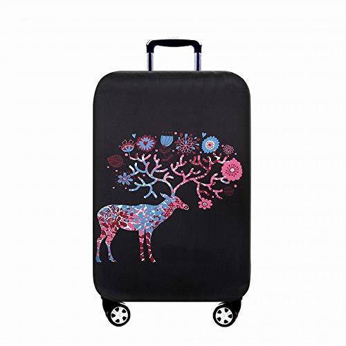GIYL reistas voor koffer met wieltjes, krasbestendig, wasbaar, voor koffers van 18-32 inch