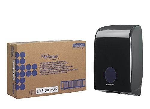 Aquarius 7171 dispenser voor formaat handdoeken, variant, zwart, zwart, 1