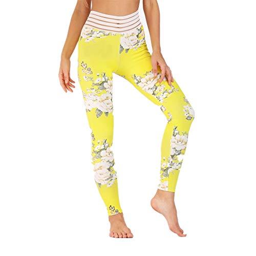 DSCX Vrouwelijke Leggings Outdoor Stretch Panty Mode Dagelijks Outdoor Grote Maat Bloem afdrukken Casual Ademend en Comfortabel