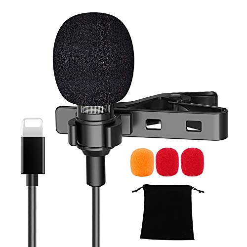 Lavalier Microphone for iPhone, External...