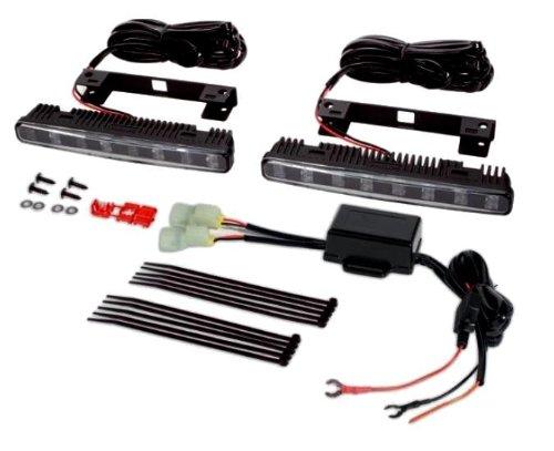 Philips 12824WLVWAC1 DayLight 8 Gen 2 High Powered Luxeon LED Daytime Running Light