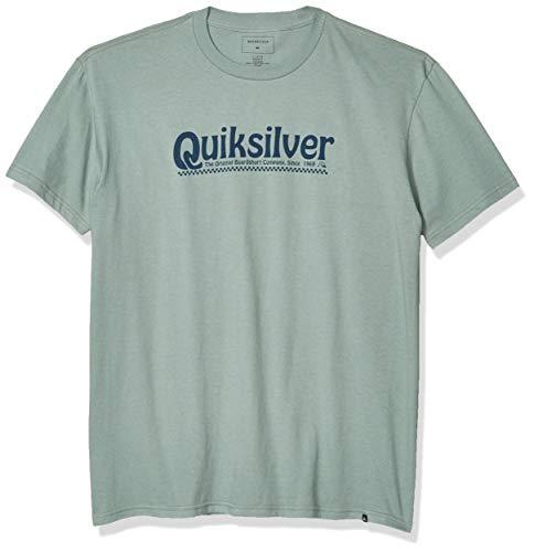 Quiksilver Herren New Slang Tee Hemd, Chinois Grün, X-Groß