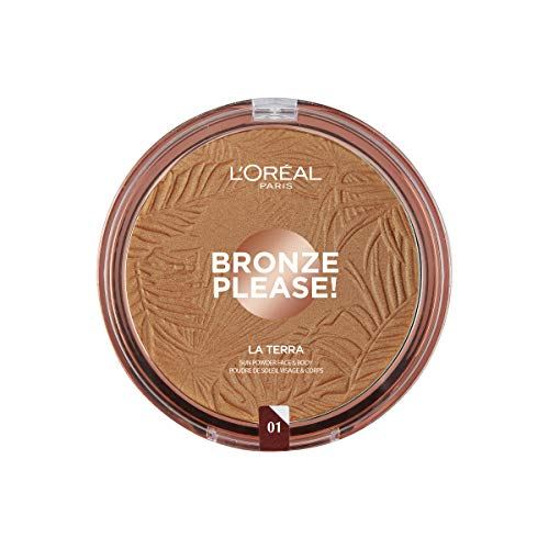 LOREAL GLAM BRONZE GROUND 01 maquillaje 18g