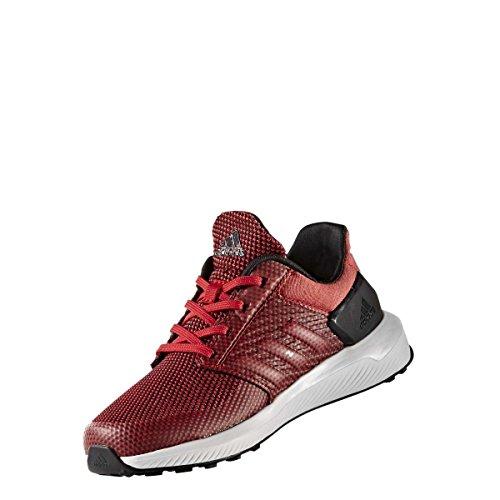 adidas RapidaRun K, Zapatillas de Deporte Unisex niño, (Escarl/Escarl/Negbas), 30 EU