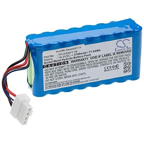 vhbw batterie compatible avec Toshiba VC-J1X aspirateur Home Cleaner (3700mAh, 19.2V, NiMH)