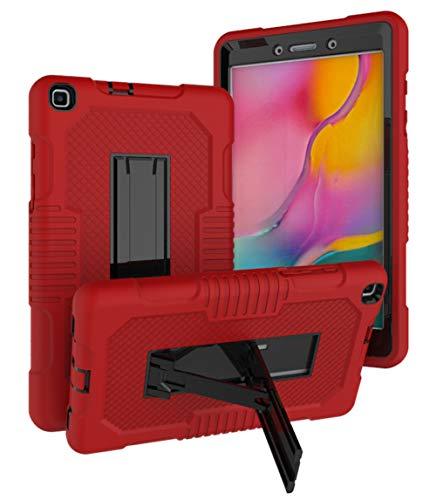 FANSONG Funda para Samsung Galaxy Tab A A8 8.0 Pulgadas 2019 Funda con Soporte Funda Resistente para Samsung Galaxy Tab A 8.0 T290 T295 Protección de Pantalla