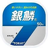 東レ(TORAY) ライン 銀鱗 50m単品 0.8号