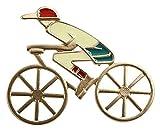 Seupeak Legierungsmaterial Fahrrad-Modellbrosche für Frauen-Mädchen-Superior - Qualität und kreativ