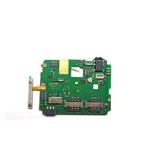 RKRXDH Placa Principal De Teléfono Móvil Usada Y Probada Placa Base De Placa Base con Cable De Volumen Flex For Teléfono Celular Fit For Lenovo A850 teléfonos móviles Placa Base