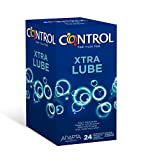 Control Nature Xtra Lube - Caja de condones, gama placer natural, mayor lubricación, perfecta...
