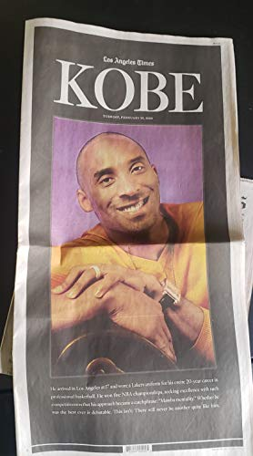 LOS ANGELES TIMES NEWSPAPER - 02...
