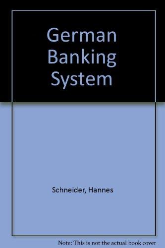 German Banking Systemの詳細を見る