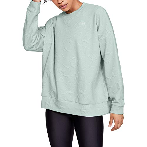 Under Armour Women's Unstoppable Daytona Move Light Crew Warm-up Top