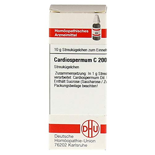 CARDIOSPERMUM C 200 Globuli 10 g