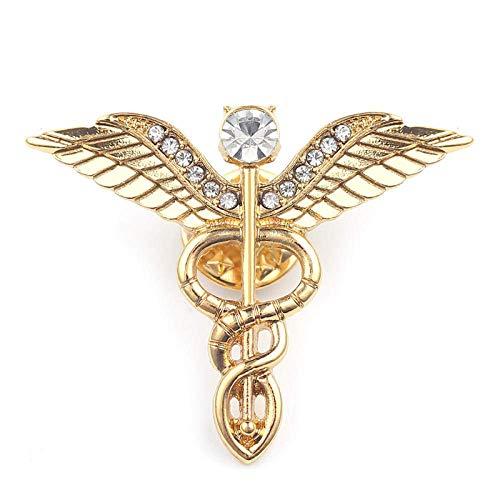 Mode Schüssel Hygieia Emaille Pin Abzeichen Medizinische Broschen Schmuck Krankenschwester Arzt Medizinisches Symbol Pin Frauen Zubehör Geschenk-xz168