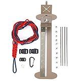 Kit de Pulsera de Paracord, Kit de Pulsera Jig Ajustable Marco de Acero DIY Kit de Plantillas para Fabricante de Pulseras de Paracord con Hanks Hebillas Gratis para Niños Regalo de Artes Creativas