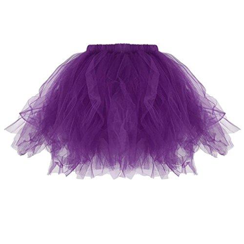 Mini Falda De Ballet Skirt, Xinantime Falda de tutú Plisada niñas Adultas Minifaldas Plisadas