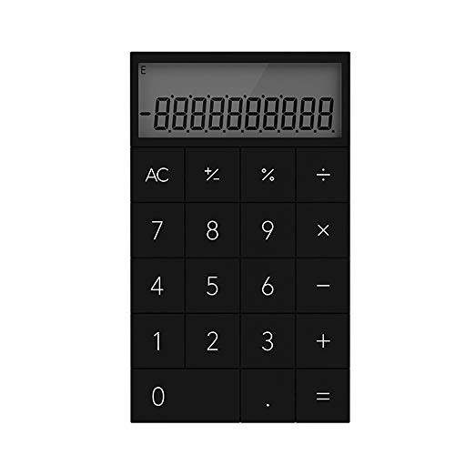 XBAO rekenmachine, matte textuur, ondoorlatend, draagbaar, rekenmachine, zacht en comfortabel, zeer mooi cadeau voor collega's, kinderen en vrienden